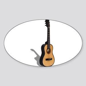 Guitar Sticker (Oval)